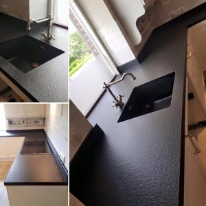 Graniet Keukenblad Absolute Black Anciento