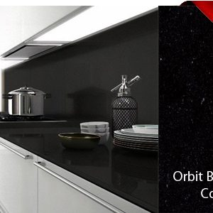 Orbit Black Belenco Composiet Keukenblad