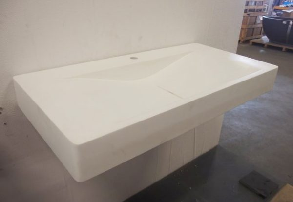 Solid surface wasbak solo