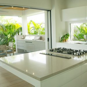 Clamshell 4130 Caesarstone composiet