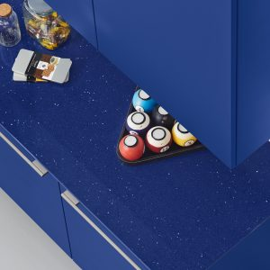 starlight blue marina composiet keukenblad