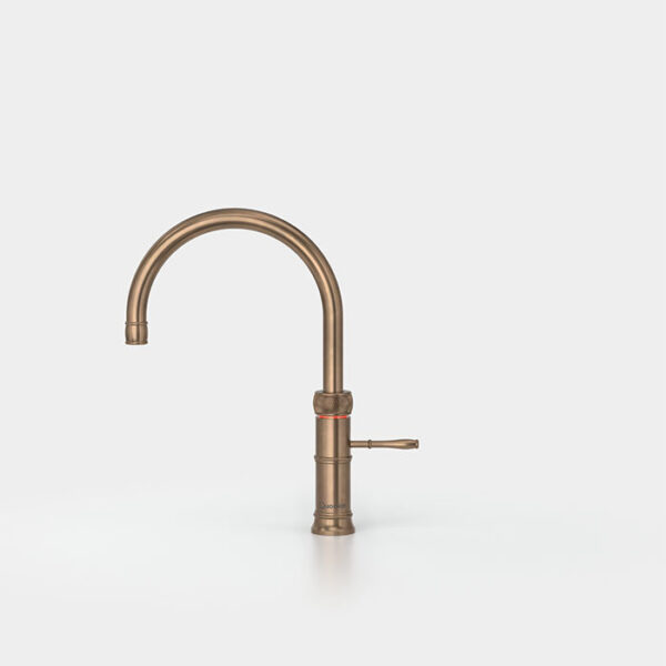 quooker classic fusion round messing patina